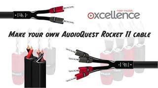 Machen Sie Ihre eigenen AudioQuest Rocket-11 Lautsprecher-Kabel