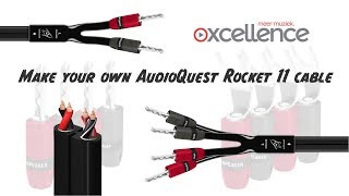 Kendi AudioQuest Roket 11 hoparlör kablosu olun