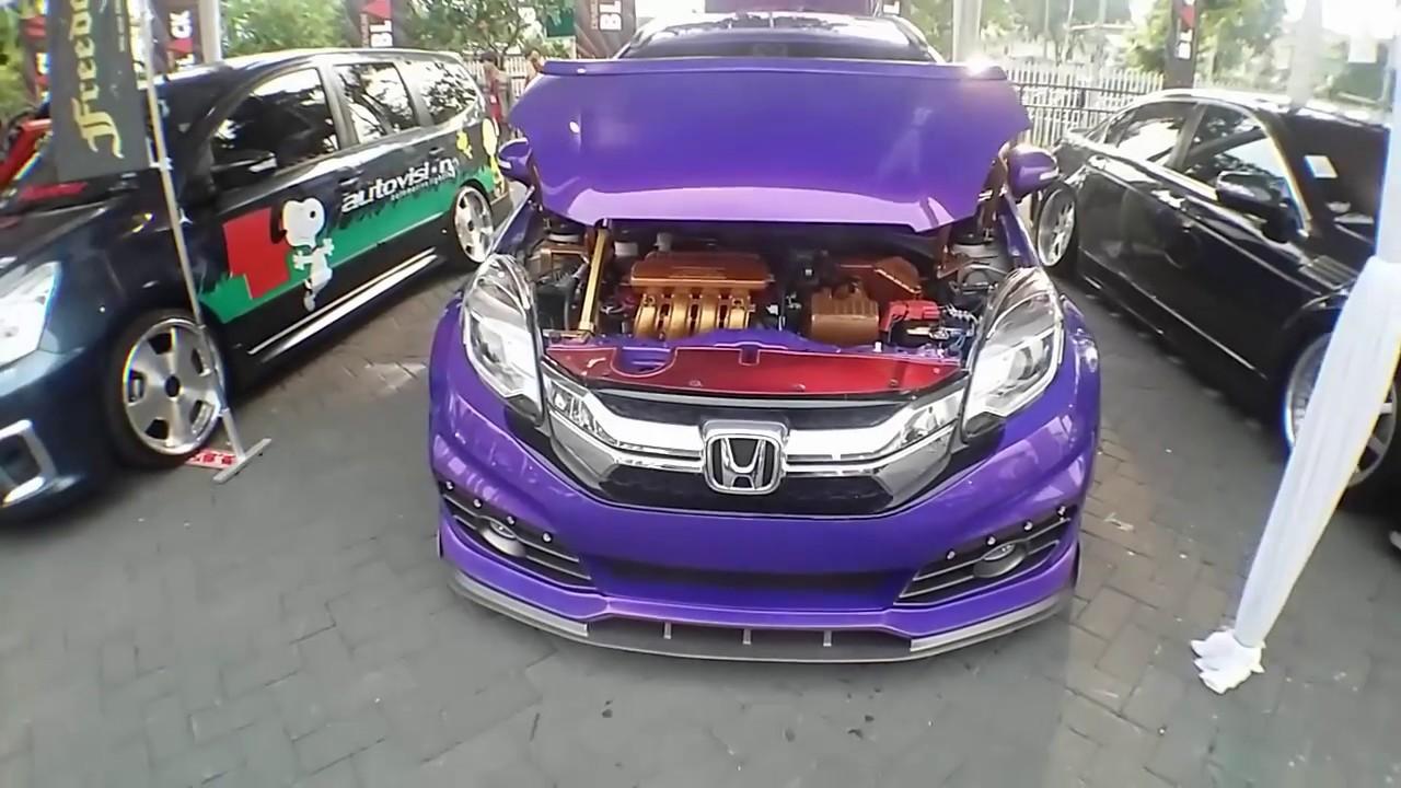 Honda Mobilio Low Ride Custom Modified Giias Surabaya Youtube