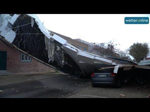 So wütet Sturm EBERHARD in Deutschland (11.03.2019)