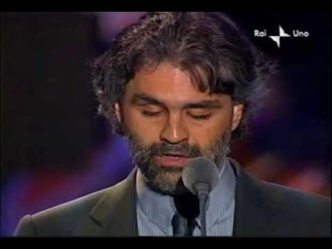 Pavarotti & Friends Andrea Bocelli - En Aranjuez Con Tu Amor 2003-05-27