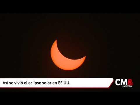 Así se vivió el eclipse solar en EE UU