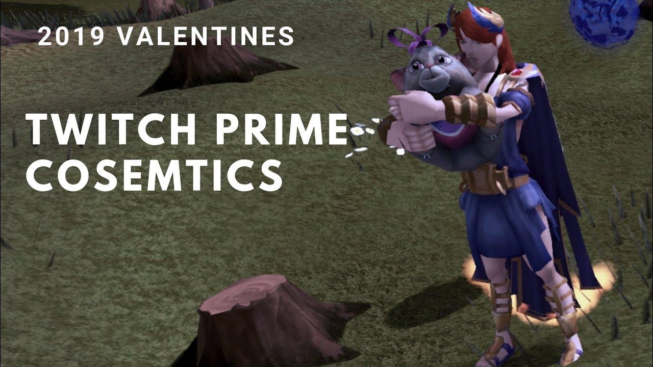 Runescape 3 - 2019 Valentines Day Twitch Prime Cosmetics