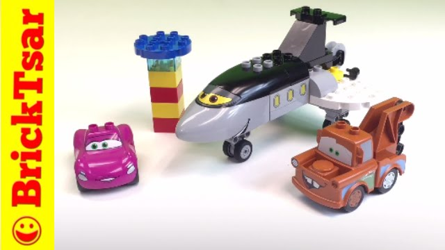 Lego Duplo Cars 6134 Siddeley Saves The Day Disney Pixar Cars Toys