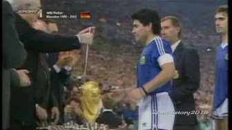 Fussball WM 1990 - Deutschland vs Argentinien (Finale)