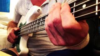 let it whip by the dazz band bass guitar cover boosted quickie