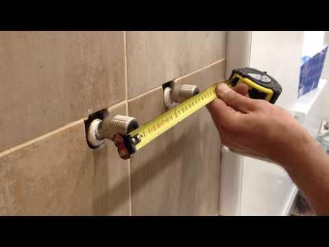 Bath mixer installation - Видео онлайн