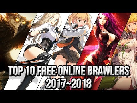 Top 10 Free Online Brawlers | Free Online Action Games 2017~2018