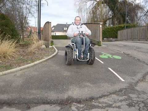 Segway Ixos Liberty  by Electric'cars France Alsace   part 3