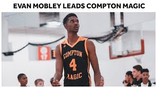 Top Class of 2020 Recruit Evan Mobley Leads a STACKED Compton Magic Team - Full Highlights