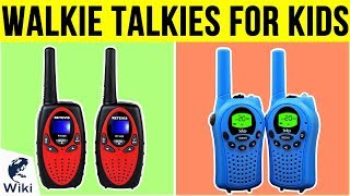 10 Best Walkie Talkies For Kids 2019
