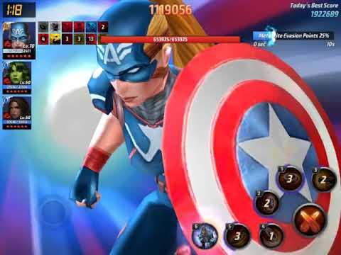 2M Max ABX score MFF Female Captain America
