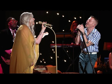 Macklemore & Kesha Perform Good Old Days