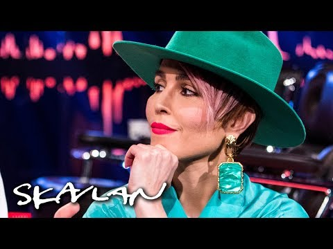 Noomi Rapace was blinded after chemical burn on set  English subtitles  Skavlan