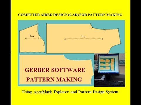 Gerber Pattern Making Gerber Software For Pattern Making Cad Gerber Pattern Making Youtube