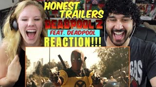 Honest Trailers - DEADPOOL 2 (Feat. Deadpool) - REACTION!!!