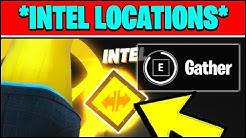 HOW TO GATHER INTEL DURING SPY GAMES OPERATION MATCHES & INTEL LOCATION (Fortnite Season 2 Week 9)