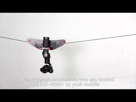 4 Mini Cablecam Little Flycat Installation of DJI OSMO Handheld Gimbal #1