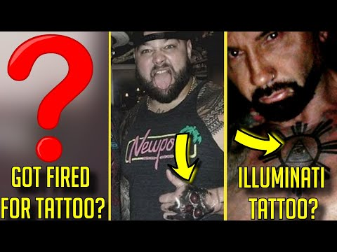 15 WWE Wrestlers YOU DIDN'T KNOW GOT Tattoos This Year! - Bray Wyatt, Batista & More! | WWE Tattoos
