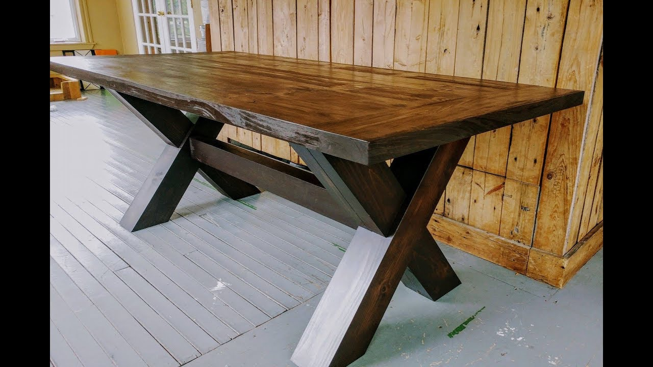 Top Of Farm Table Build