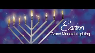Grand Menorah Lighting in Easton