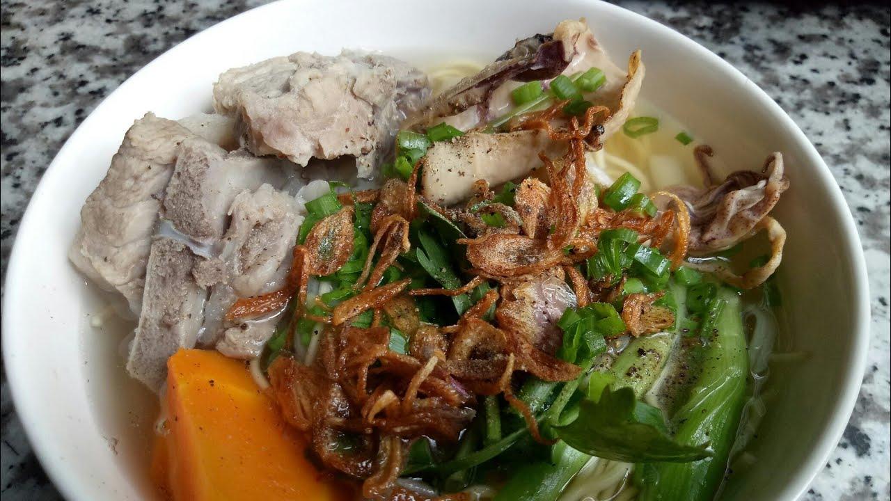 HỦ TIẾU MÌ – cách nấu HỦ TIẾU XƯƠNG với bí quyết NẤU NƯỚC SÚP NGON – Món Ăn Ngon Mỗi Ngày
