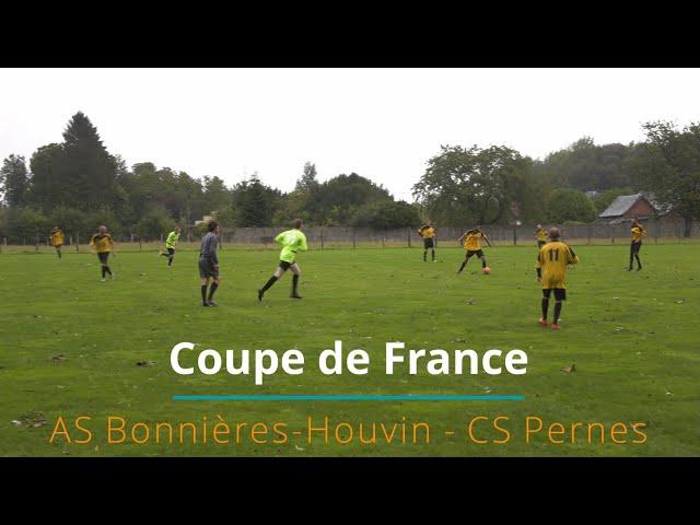 ⚽️ Coupe de France : AS Bonnières-Houvin 2-5 CS Pernes