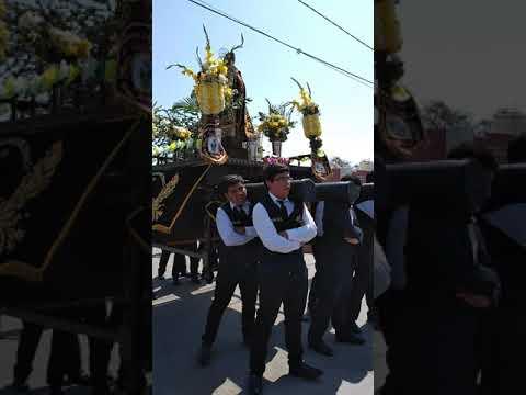 Primera cuadrilla La Fe Nazarena HM Jesús Nazareno Cautivo Monsefú
