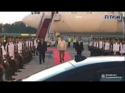 PRESIDENT DUTERTE ARRIVAL IN BRUNEI OCTOBER 17, 2017