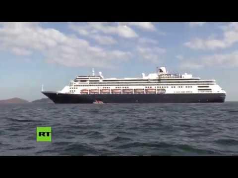 RT en Español: Autorizan que pase por el Canal de Panamá el crucero Zaandam, en el que murieron varias personas