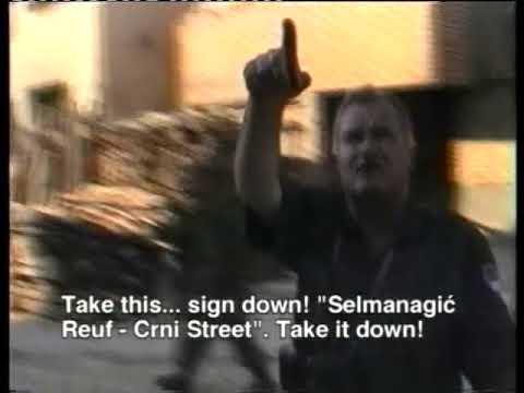 Ulazak Ratka Mladića i srpskih vojnika u Srebrenicu, 11.7.1995. (ICTY)