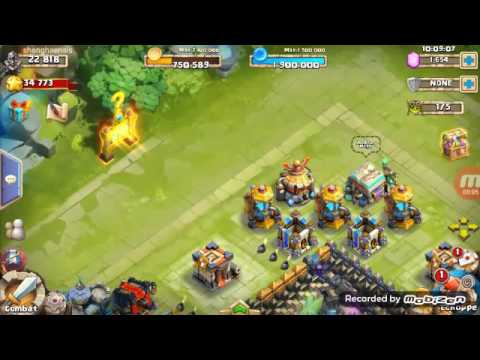 Mega Pack Opening Castle Clash N 3 (+carte Hero Legendaire Speciale)