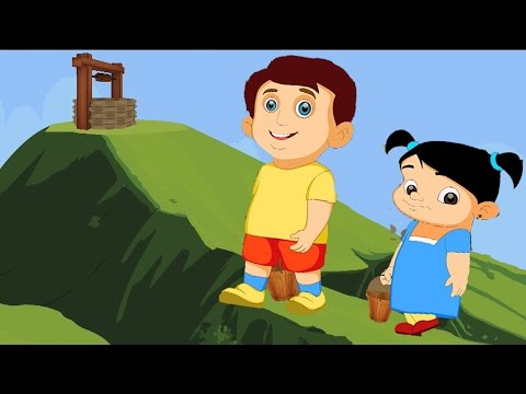 Jack and Jill Nursery Rhyme with Lyrics - Rhymes for Kids