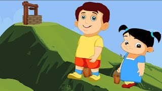 Jack and Jill Nursery Rhyme with Lyrics - Rhymes for Kids