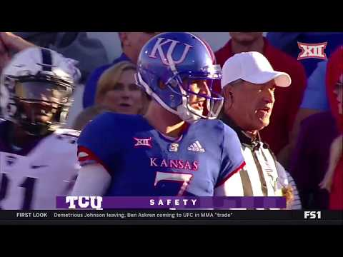 TCU vs Kansas Football Highlights