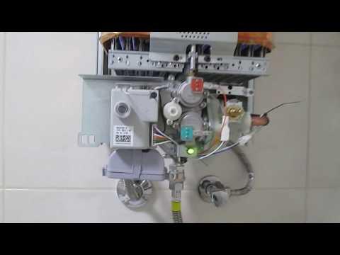 Первое включение Газовой колонки  Therm 4000 O WR 13-2 P