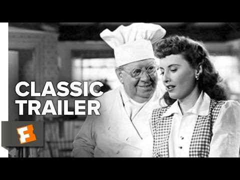 Christmas in Connecticut (1945) Official Trailer - Barbara Stanwyck, Dennis Morgan Movie HD