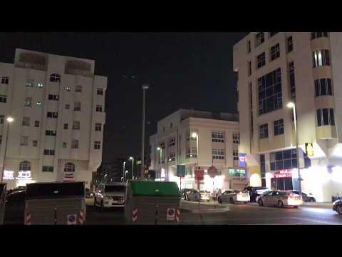 Rocket body/Meteor shower at Abu Dhabi