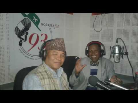 Interview With Dr. Ajay Singh Thapa By TB Thapa On Gorkha FM 93 Mhz