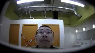 Приколы и розыгрыши.Видео приколы и розыгрыши в мужском туалете от LG.