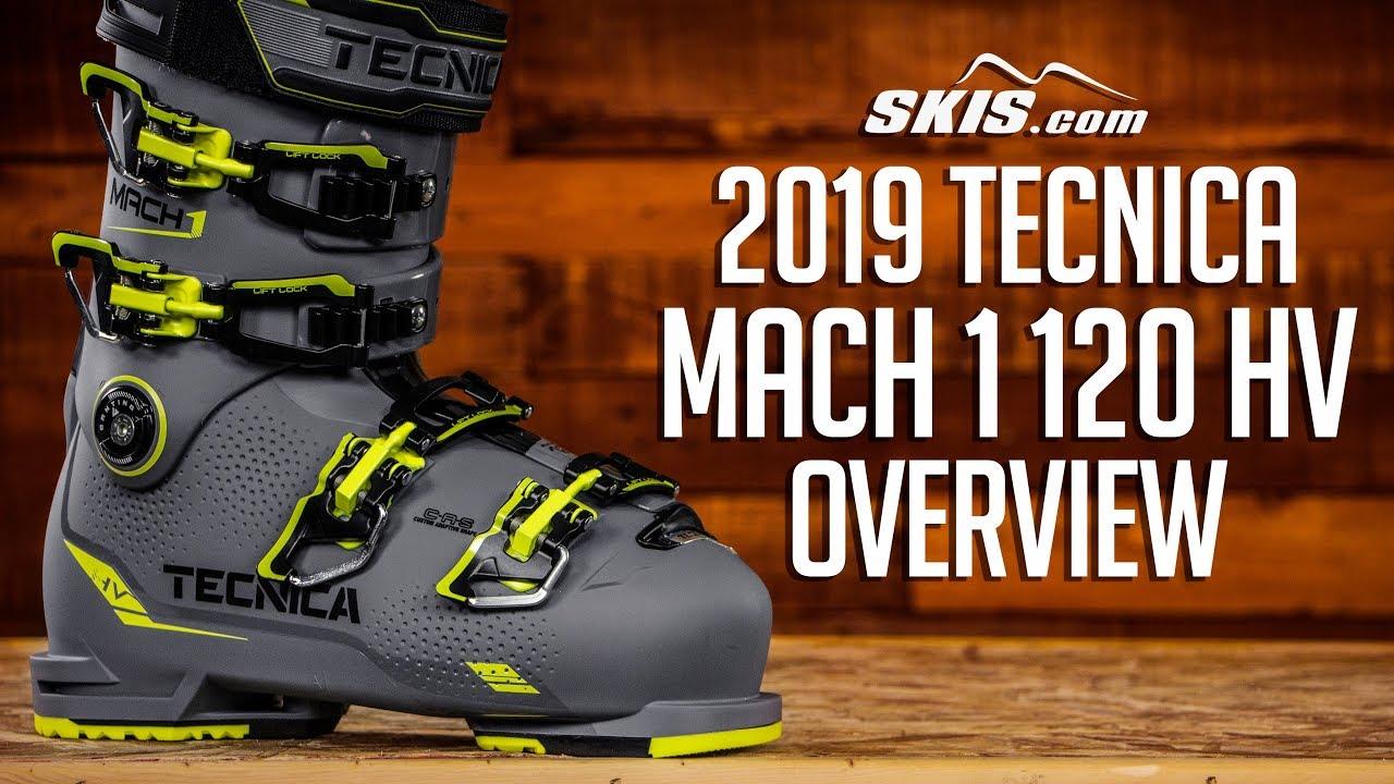 2019 Tecnica Mach 1 120 HV Mens Boot Overview by SkisDotCom - YouTube 24f74f32d