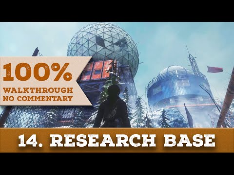 Rise of the Tomb Raider Walkthrough [1440p] (100% Completion, Survivor) 14 RESEARCH BASE