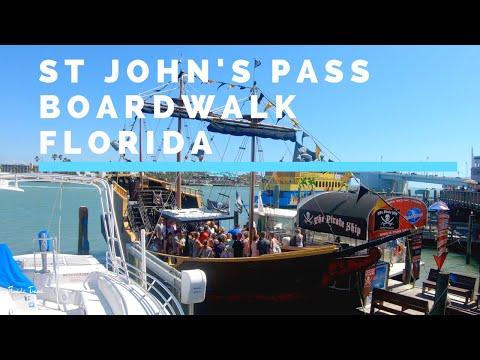St John's Pass Village And Boardwalk   Madeira Beach Florida