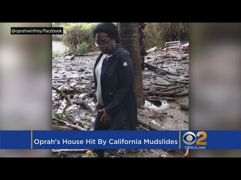 Oprah's Home Affected By Southern California Mudslides