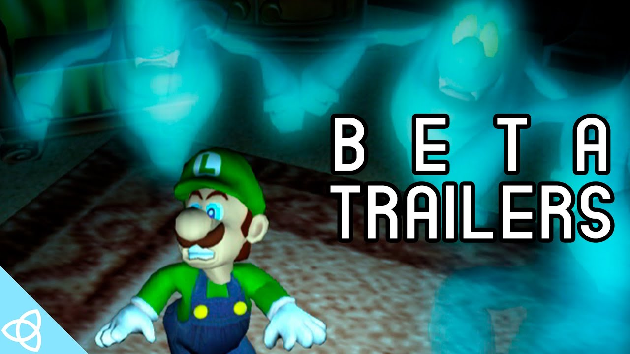 Luigi S Mansion Beta Gameplay And Trailers Youtube