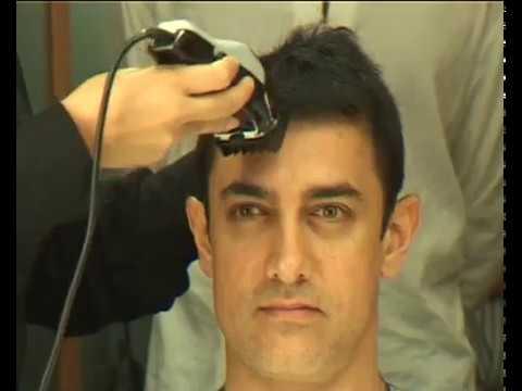 Aamir Khan Cutting Hair Rare Video Unseen Video Youtube