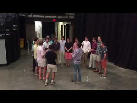 "The Hullabahoos First Run-Through of ""This Little Light of Mine"" with Ed Helms"