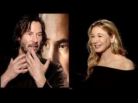 Keanu Reeves & Renée Zellweger on watching their OLD movies