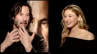 Keanu Reeves & Renée Zellweger (FUNNY) Reaction On watching their younger self in old movies
