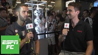 Miralem Pjanic interview on Juventus and Cristiano Ronaldo | ESPN FC